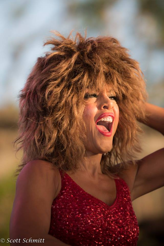 Samira as Tina Turner